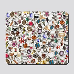 jewelry rings Mousepad