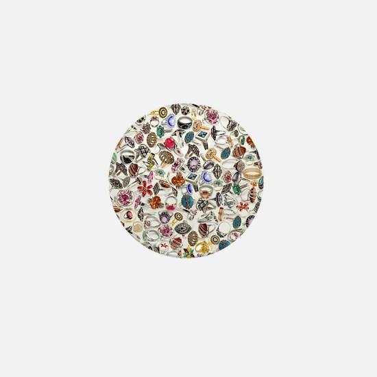 jewelry rings Mini Button