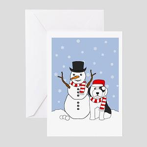 Old English Sheepdog Holiday Cards (Pk of 20)