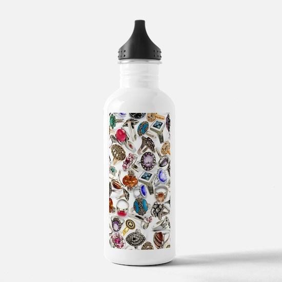 jewelry rings Water Bottle