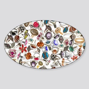 jewelry ring Sticker