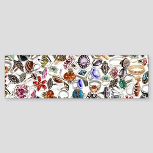 jewelry rings Bumper Sticker
