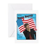 Dave Barry For President Greeting Card