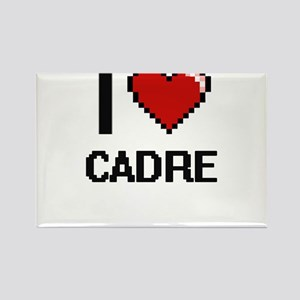 I love Cadre Digitial Design Magnets