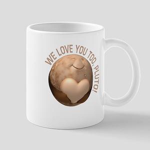 Love You Pluto Mugs