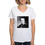 Poe Women's V-Neck T-Shirt