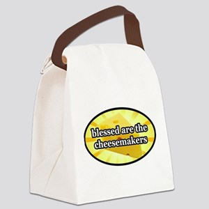 BLESSED ARE THE CHEESEMAKERS Canvas Lunch Bag