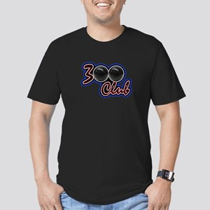 300 CLUB - PERFECT GAM Men's Fitted T-Shirt (dark)