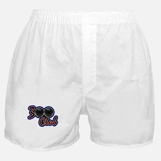 300 CLUB - PERFECT GAME SCORE BOWLING Boxer Shorts