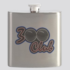 300 CLUB - PERFECT GAME SCORE BOWLING Flask
