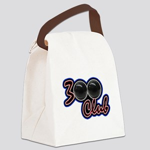 300 CLUB - PERFECT GAME SCORE BOW Canvas Lunch Bag