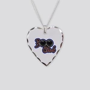 300 CLUB - PERFECT GAME SCORE Necklace Heart Charm