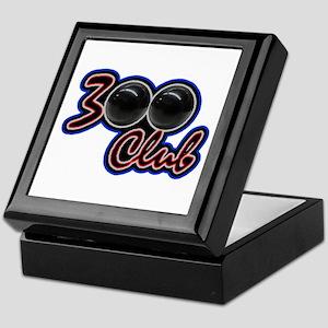 300 CLUB - PERFECT GAME SCORE BOWLING Keepsake Box