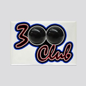 300 CLUB - PERFECT GAME SCORE BOW Rectangle Magnet