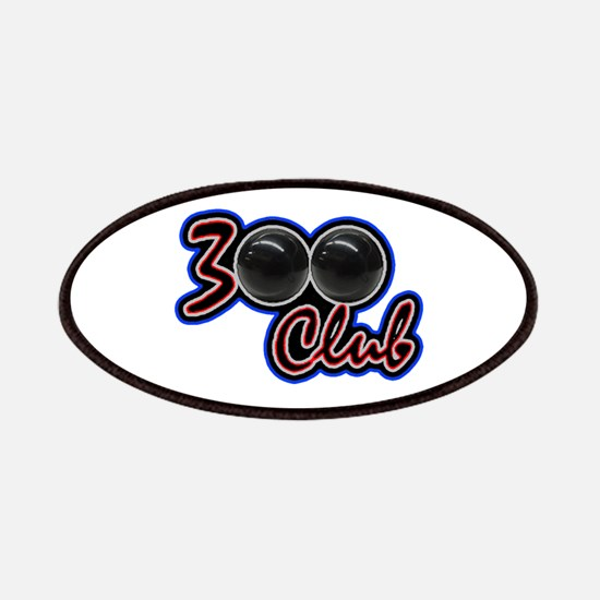 300 CLUB - PERFECT GAME SCORE BOWLING Patch