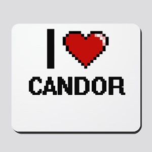 I love Candor Digitial Design Mousepad