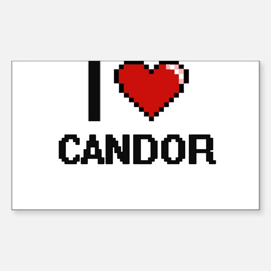 I love Candor Digitial Design Decal