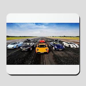 Supercars Mousepad