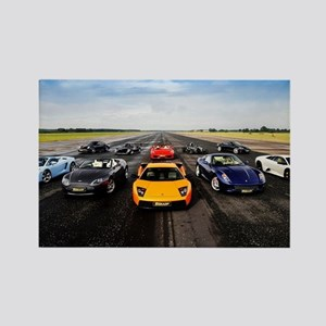 Supercars Magnets