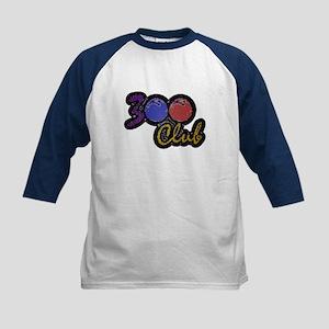 300 CLUB - PERFECT GAME SCORE Kids Baseball Jersey