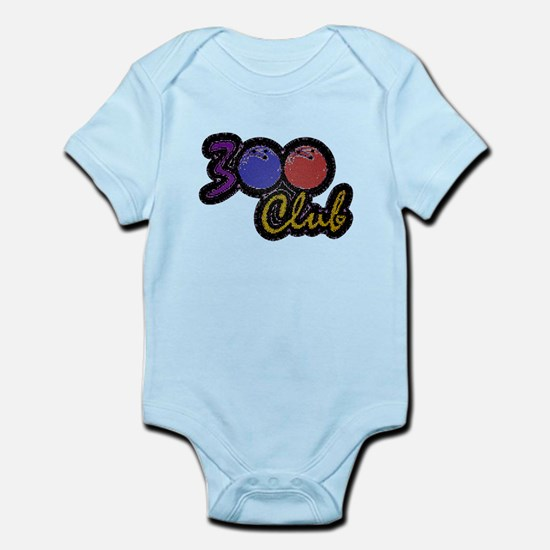 300 CLUB - PERFECT GAME SCORE BOWL Infant Bodysuit