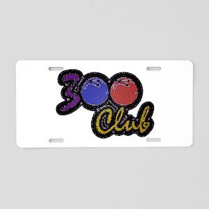 300 CLUB - PERFECT GAME SCO Aluminum License Plate