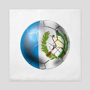 Guatemala Soccer Ball Queen Duvet