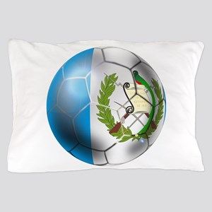 Guatemala Soccer Ball Pillow Case