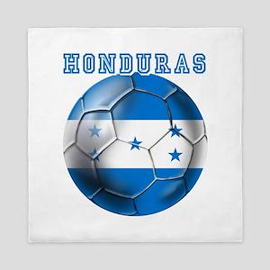 Honduras Soccer Football Queen Duvet