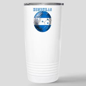 Honduras Soccer Football Travel Mug
