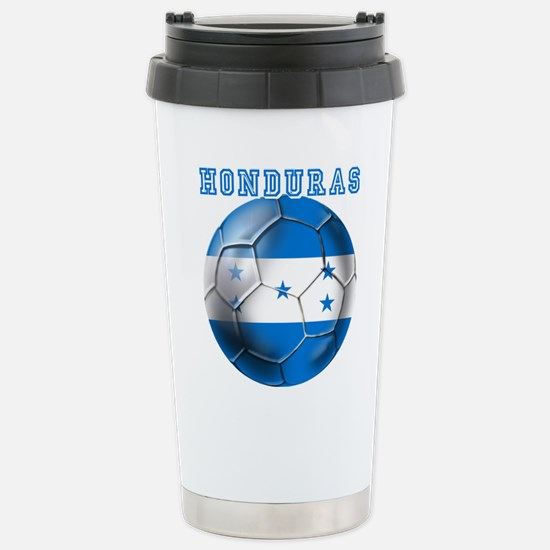 Honduras Soccer Football Travel Mug