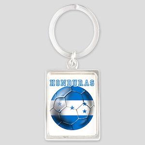 Honduras Soccer Football Keychains