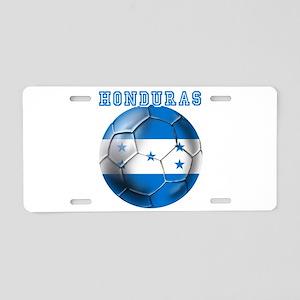 Honduras Soccer Football Aluminum License Plate