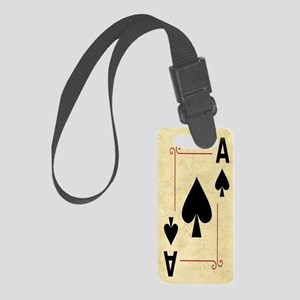 Ace Of Spades Small Luggage Tag