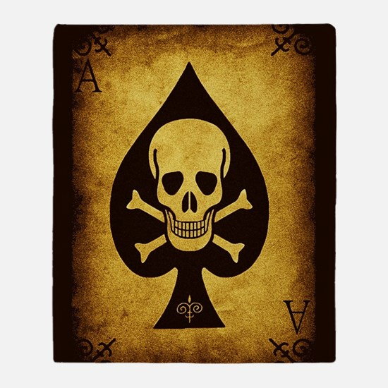 The Death Card Throw Blanket