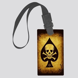 The Death Card Large Luggage Tag