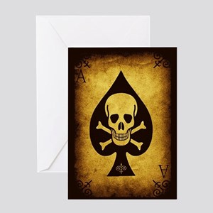 The Death Card Greeting Card
