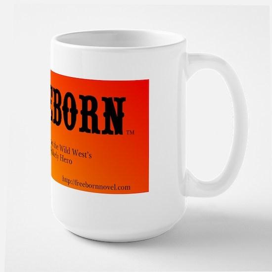 Freeborn Large Mug