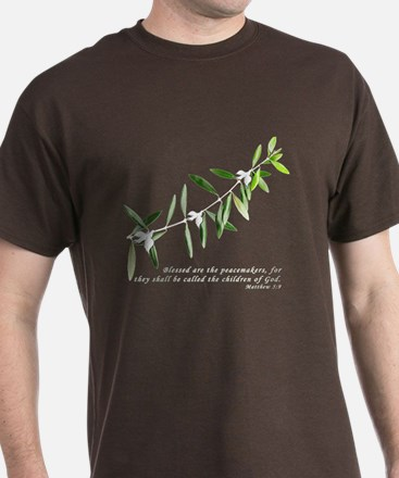 Olive Branch with doves T-Shirt
