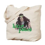 Hair Peace Tote Bag