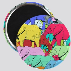 Elephants Parade Magnets