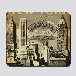 Vintage USA New York Mousepad
