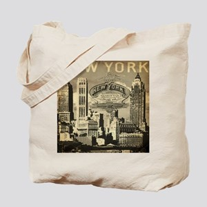 Vintage USA New York Tote Bag