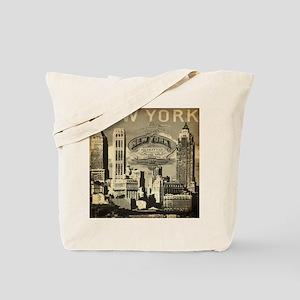 Vintage USA New York Tote Bag