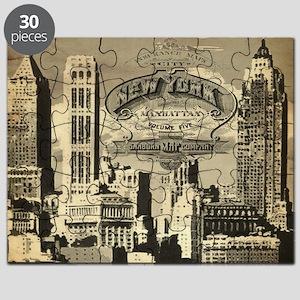 Vintage USA New York Puzzle