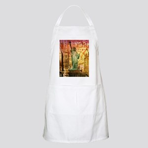 cool statue of liberty Apron