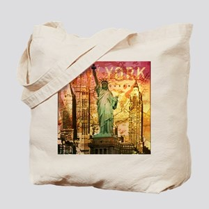 cool statue of liberty Tote Bag