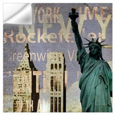 cool statue of liberty Wall Decal