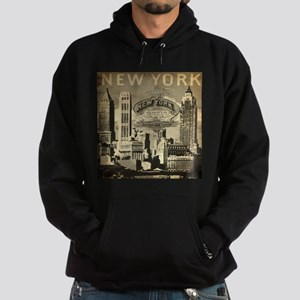 Vintage USA New York Hoodie (dark)