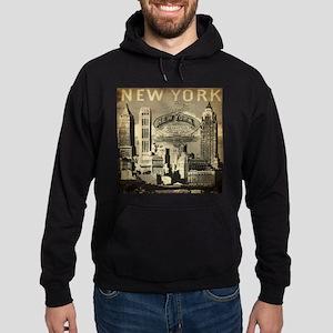 Vintage USA New York Hoodie (dark)